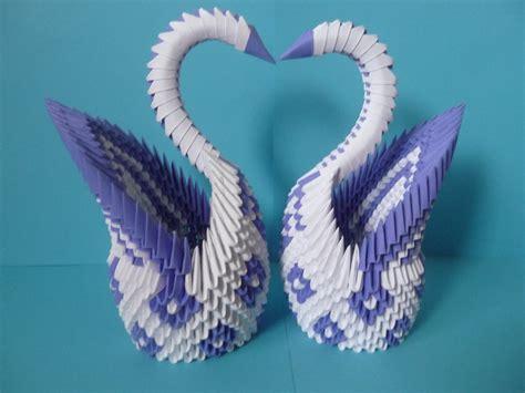 3d origami swan 3d origami swan club origami
