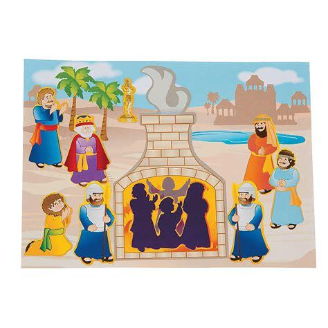 shadrach meshach and abednego craft for sadrac mesa c y abednego crafts