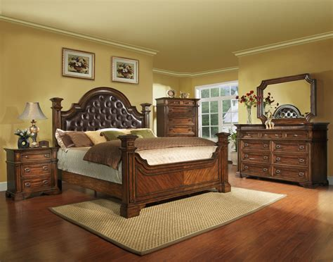 size bedroom set king size antique brown bedroom set wood free shipping