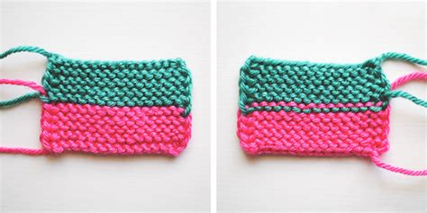 knitting changing colors in the garter stitch free knitting tutorial on craftsy