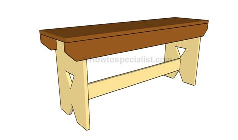 simple woodworking plans woodwork how to build a simple bench pdf plans