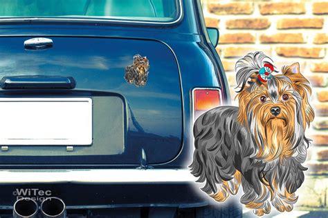 Autoaufkleber Yorkshire by Hundeaufkleber Yorkshire Terrier Auto Aufkleber Sticker