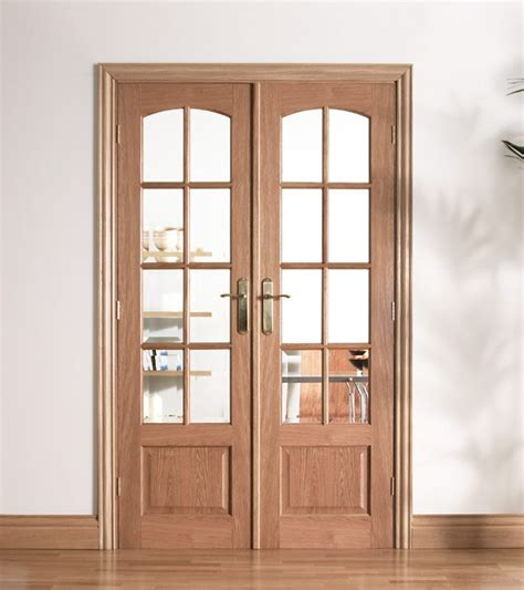 oak doors with glass worthing oak doors with bevelled glass