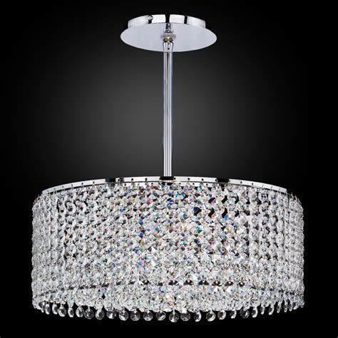 drum shaped chandeliers drum shape pendant chandelier chic 596