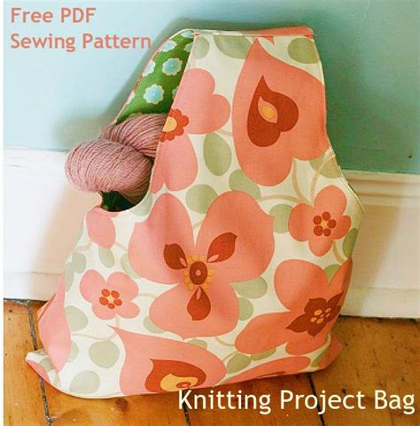 sewing pattern for knitting project bag knitting projects free sewing and knitting on
