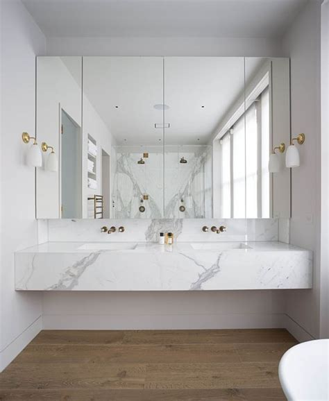 modern marble bathroom 36 floating vanities for stylish modern bathrooms digsdigs