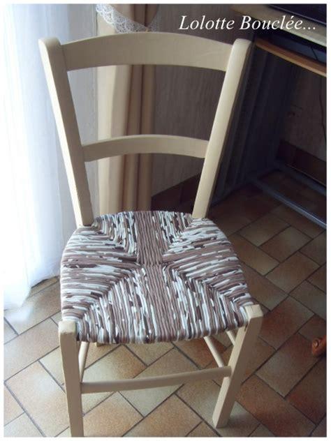comment peindre une chaise en paille