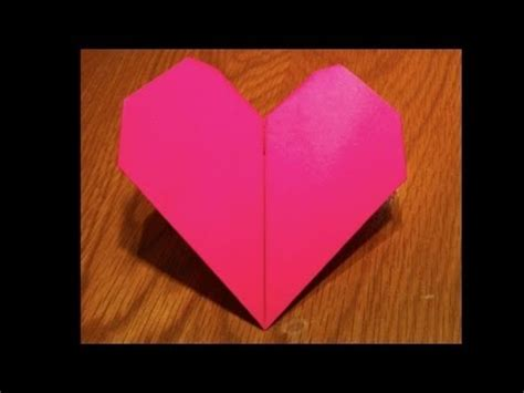 how to make a origami beating origami beating s day tutorial