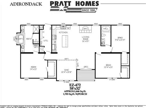 adirondack floor plans adirondack floor plan pratt homes