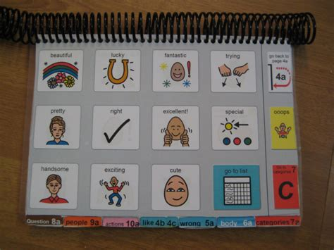 communication book pictures how i do it using podd books and aided language displays
