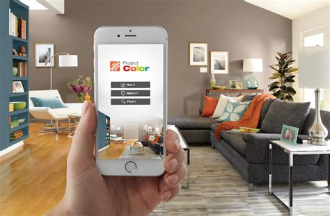 home depot paint a room home depot s project paint app adds color to omnichannel