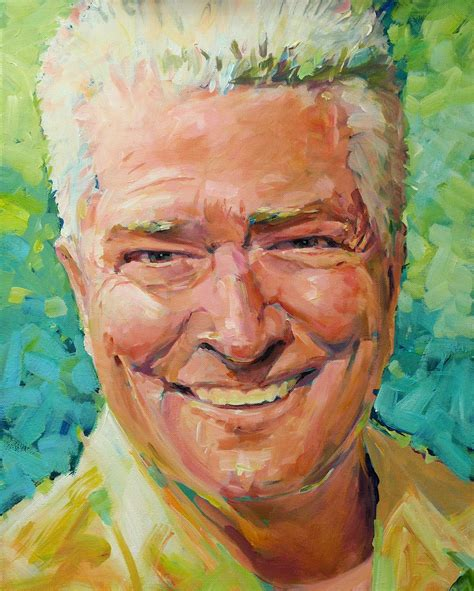 acrylic painting portrait david lobenberg some recent acrylic portraits