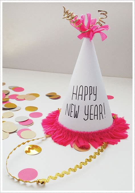 new years craft ideas for new year s crafts hats crafts