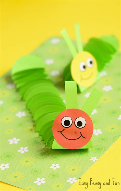 caterpillar crafts for paper caterpillar craft paper circles crafts easy