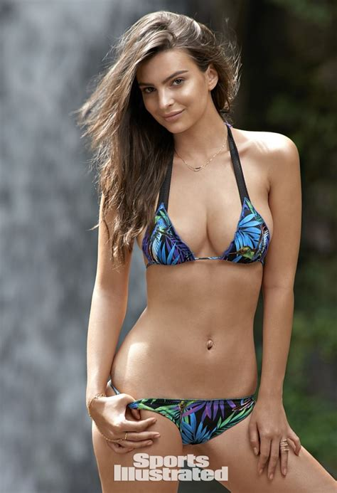 sports illustrated emily ratajkowski in sports illustrated swimsuit 2015