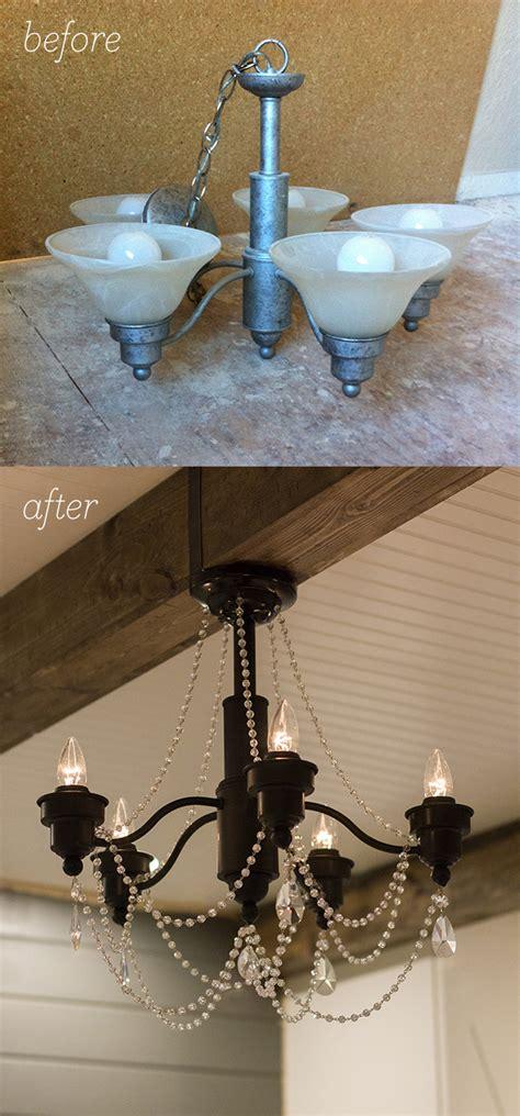 diy bedroom chandelier a diy chandelier transformation for 50