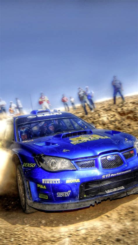 Iphone 5 Rally Car Wallpaper by Rally Car Subaru Impreza Wallpaper For Iphone 5