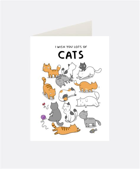 how to make a cat card i wish you cats greeting card lingvistov