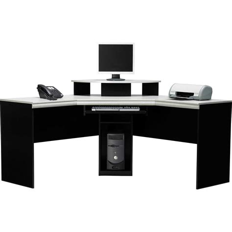 black corner computer desks for home black corner computer desk for home office