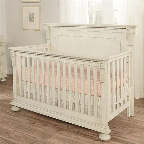 antique white baby crib 599 oxford baby mid century claremont 4 in 1 convertible