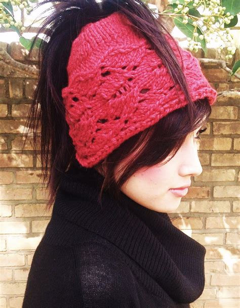 knitting shop cardiff cardiff bay ponytail hat knitting pattern by