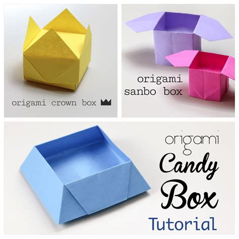 origamis for 3 easy origami boxes photo paper kawaii