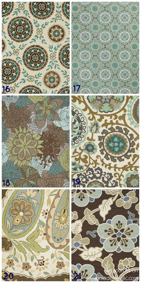 blue and area rug remodelaholic 20 green and blue area rugs you ll