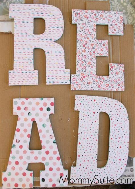 decoupage letter ideas 1000 ideas about decoupage letters on