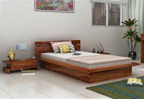 or single bed single beds buy wooden single bed india upto 60