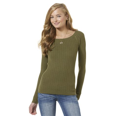 knit sweaters for juniors juniors sleeve sweater kmart