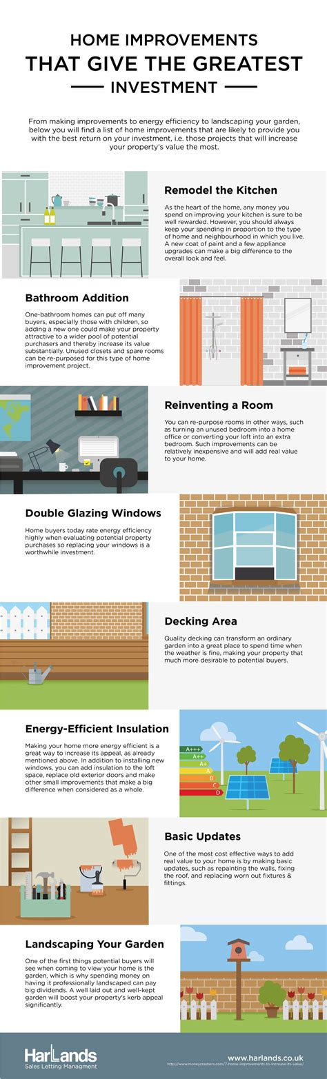 ways to increase home value 8 ways to increase the value of your home infographic