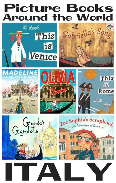 Picture Books About Italy