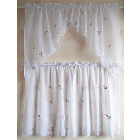 cafe curtains kitchen popular sheer cafe curtains buy cheap sheer cafe curtains