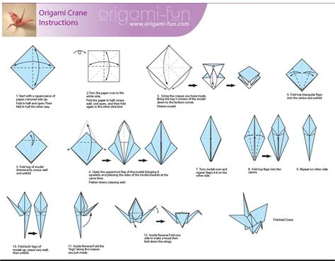 origami easy crane how to make an origami crane origami