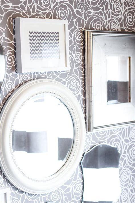 bathroom wall stencil ideas rockin a bath with stencils damask stencil stencils and design