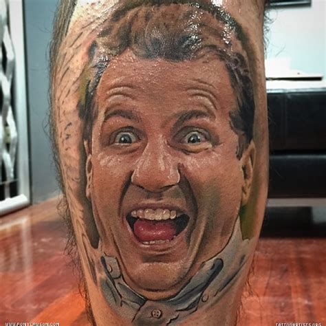 al bundy portrait tattoo pony lawson chicago best tattoo