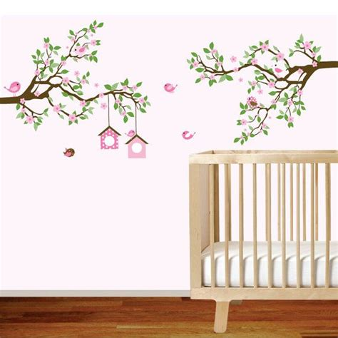tree branch wall decal nursery vinyl wall decal branch wall decal baby nursery