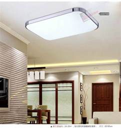 ceiling light kitchen slim fixture square led light living room bedroom ceiling
