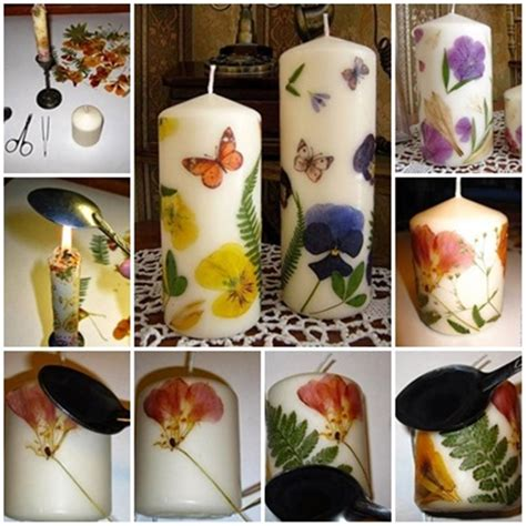 how to decorate candles wonderful diy decorate candles with flowers