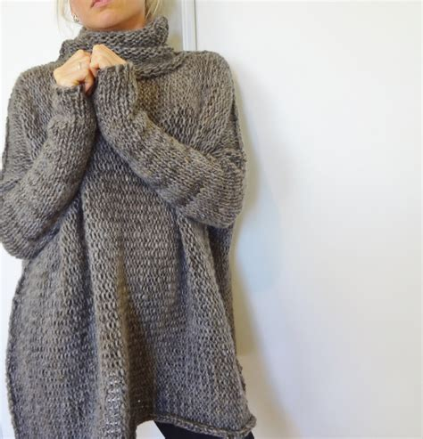 knit sweater oversized oversized chunky knit sweater slouchy bulky sweater
