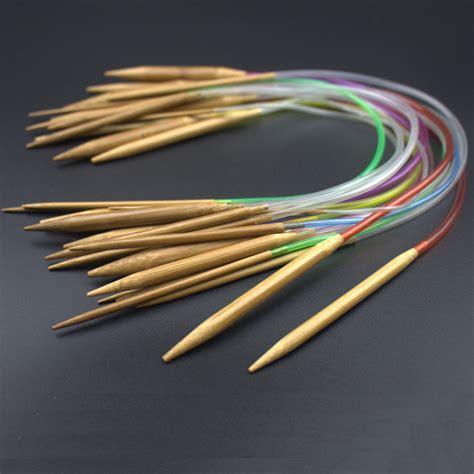 best knitting needles new multi color 18pcs set 16 quot 40cm carbonized