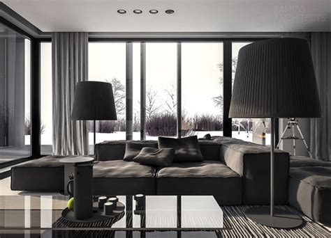gray interior design 1st place a single family home interior in cool shades of gray