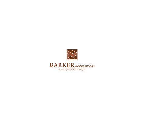 woodwork company masculine bold logo design for barker wood floors by ashu