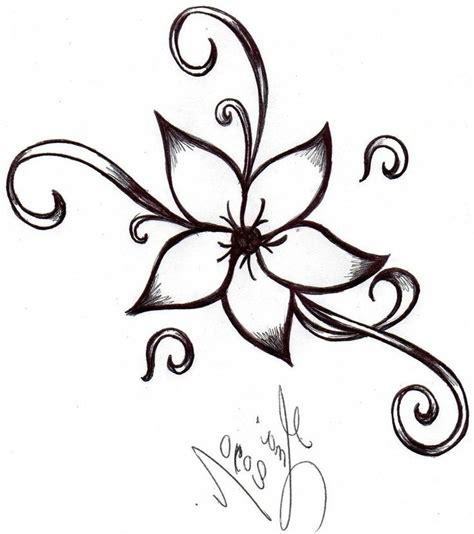 flower simple best 25 simple flower drawing ideas on dibujo