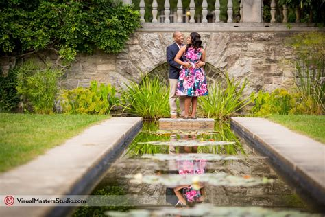 nj botanical gardens wedding casually engagement session at new jersey
