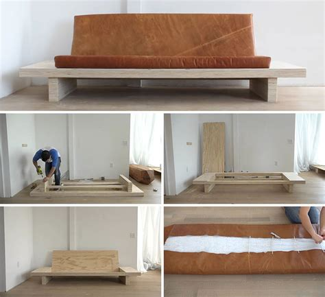 How To Make Sofa Bed Learn How To Create Your Own Diy Modern Wood With