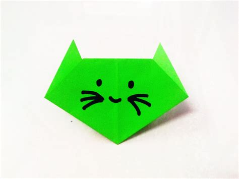 paper craft for with folding paper how to make an origami paper cat origami paper folding