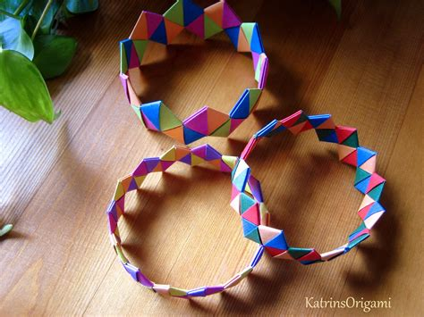 how to make jewelry out of paper origami bracelet armband