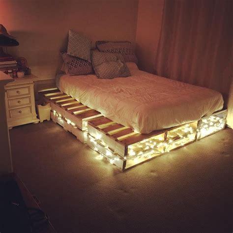 bedroom palette ideas best 25 pallet beds ideas on palette bed