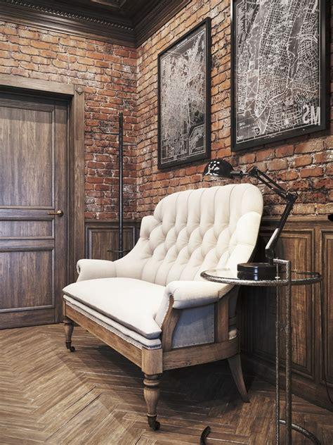 vintage style office furniture vintage office for a residence denis krasikov